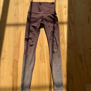 lululemon athletica Pants - Ombré maroon lululemon leggings